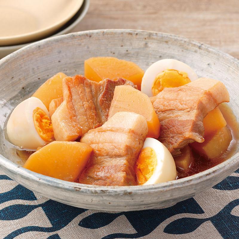炊飯器で豚肉と大根の煮物