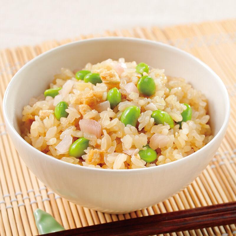 旬の枝豆レシピ