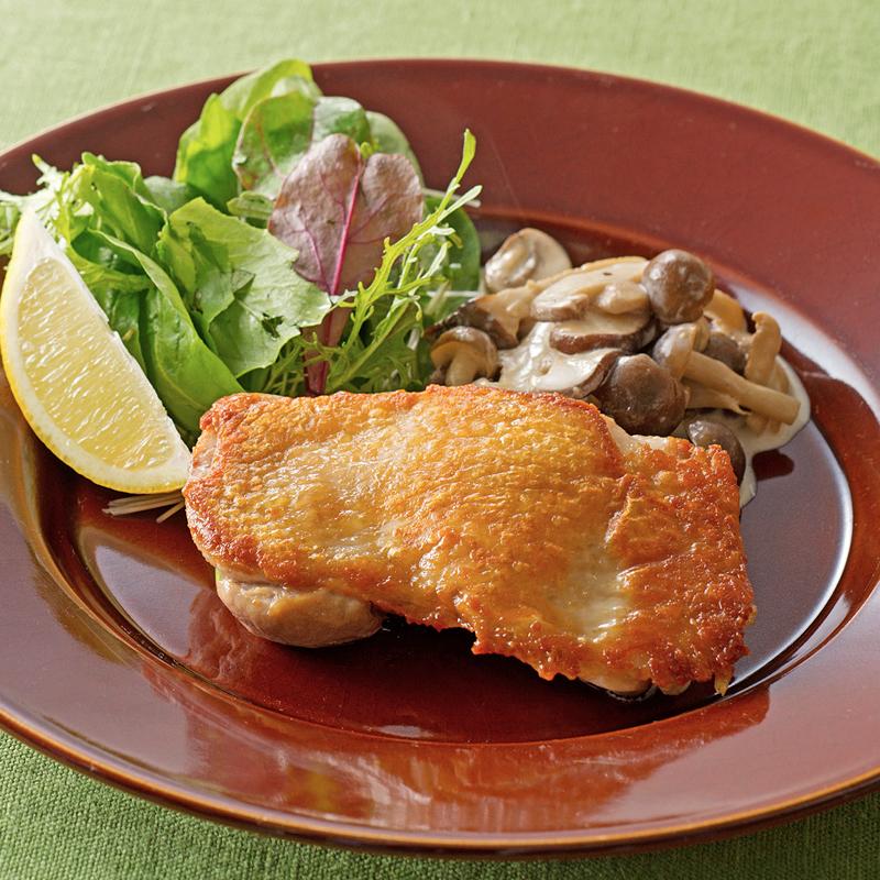 煮 きのこ クリーム 生クリームを使わずあっさり♪「鶏ときのこの和風クリーム煮」の作り置き
